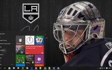 LA Kings win10 theme