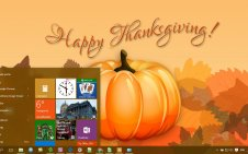 Thanksgiving win10 theme