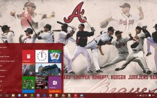 Atlanta Braves win10 theme