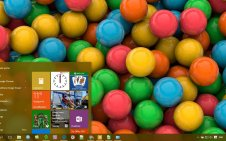 Candy win10 theme