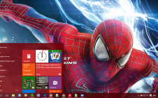 The Amazing Spider Man 2 win10 theme