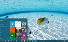 Underwater win10 theme