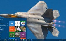 Air Force win10 theme