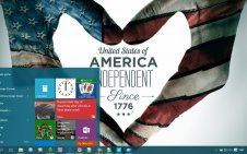 4th Of July win10 theme