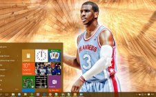 Chris Paul win10 theme