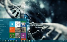 Science win10 theme