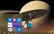 Star Trek win10 theme