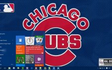 Chicago Cubs win10 theme