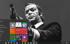 Gangster win10 theme