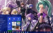 Vocaloid win10 theme