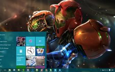 Metroid win10 theme