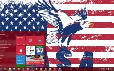 USA win10 theme