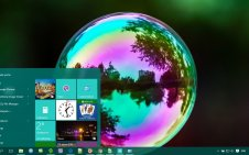 Bubble win10 theme