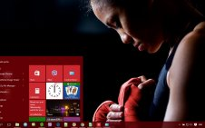 Boxing win10 theme