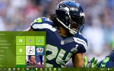 Marshawn Lynch win10 theme