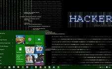 Hacker win10 theme