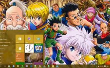 Hunter x Hunter win10 theme