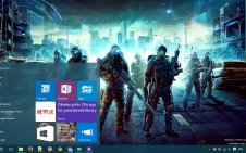 Tom Clancy's Ghost Recon Future Soldier win10 theme