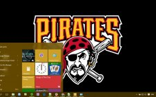 Pittsburgh Pirates win10 theme