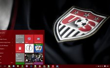 US Soccer win10 theme