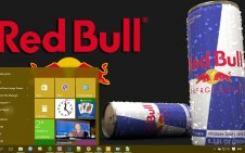 Red Bull win10 theme