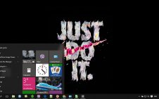 Just Do It win10 theme