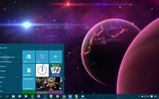 Cosmos win10 theme