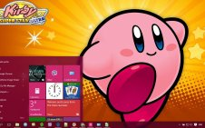 Kirby win10 theme
