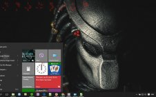 Predator win10 theme
