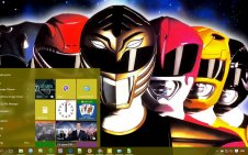 Power Rangers win10 theme