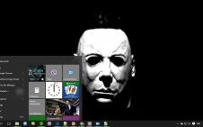 Michael Myers win10 theme