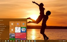 Romantic win10 theme