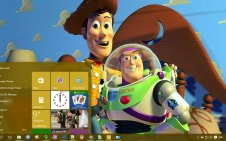 Toy Story win10 theme
