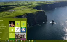 Irish win10 theme