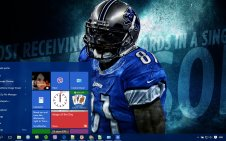 Calvin Johnson win10 theme