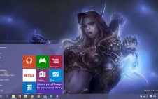 Warcraft win10 theme