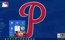 Philadelphia Phillies win10 theme