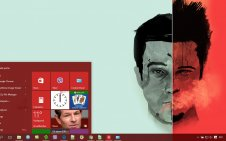 Fight Club win10 theme