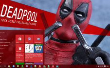 Deadpool Movie win10 theme