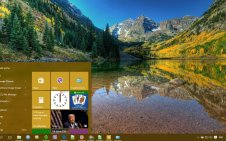 Colorado win10 theme