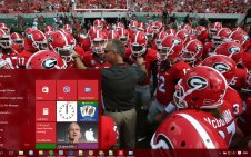 UGA win10 theme