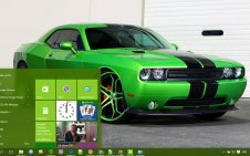 Dodge Challenger win10 theme