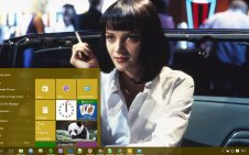 Pulp Fiction win10 theme