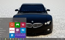 BMW win10 theme