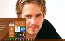 Paul Walker win10 theme