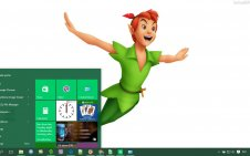 Peter Pan win10 theme