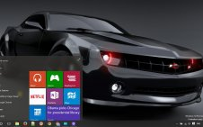 Camaro win10 theme