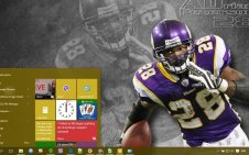 Adrian Peterson win10 theme