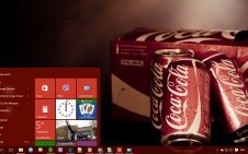 Coca Cola win10 theme