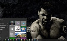Muhammad Ali win10 theme